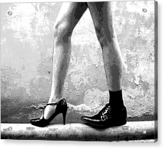 The Other Shoe 2 Acrylic Print by Sumit Mehndiratta