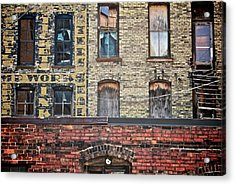 The Other Side Acrylic Print by Odd Jeppesen