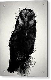 The Owl Acrylic Print by Nicklas Gustafsson