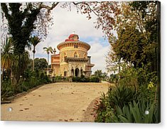The Palace Of Monserrate Portugal Acrylic Print by Christopher Cosgrove