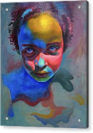 The Palette  Acrylic Print by Fithi Abraham