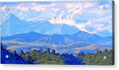 The Passing Storm Acrylic Print by Elena Roche