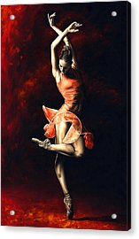 The Passion Of Dance Acrylic Print by Richard Young