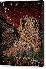 The Peak Acrylic Print by Russ Brown