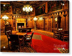 The Pennsylvania Governor Office Acrylic Print by Olivier Le Queinec