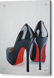 The Perfect Pair Acrylic Print by Devan Gregori