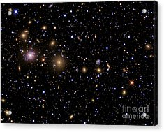The Perseus Galaxy Cluster Acrylic Print by R Jay GaBany