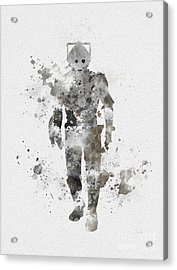 The Persistent Enemy Acrylic Print by Rebecca Jenkins