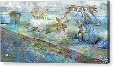 The Piano  Acrylic Print by Betsy Knapp