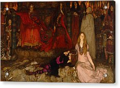 The Play Scene In Hamlet - Act IIi Scene 2 Acrylic Print by Mountain Dreams