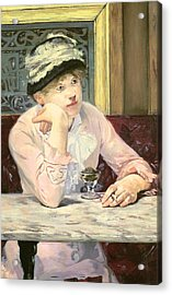 The Plum Acrylic Print by Edouard Manet