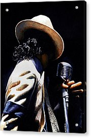The Pop King Acrylic Print by Emerico Imre Toth