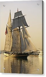The Pride Of Baltimore Clipper Ship Acrylic Print by George Grall