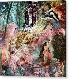 The Prophet On Work Acrylic Print by Barry Novis