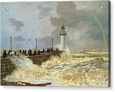 The Quay At Le Havre Acrylic Print by Claude Monet