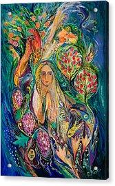 The Queen Of Shabbat Acrylic Print by Elena Kotliarker