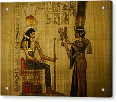 The Queen Of The Nile Acrylic Print by Joshua Massenburg