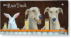 The Race Track... Acrylic Print by Will Bullas
