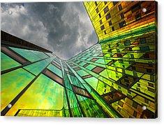 The Rainbow Acrylic Print by Gerard Jonkman