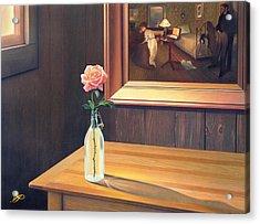 The Rape Acrylic Print by Patrick Anthony Pierson