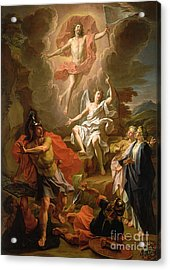 The Resurrection Of Christ Acrylic Print by Noel Coypel