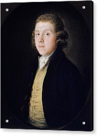 The Reverend Samuel Kilderbee Acrylic Print by Thomas Gainsborough