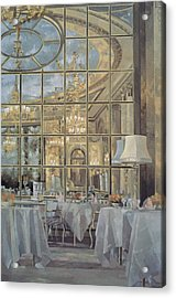The Ritz Acrylic Print by Peter Miller