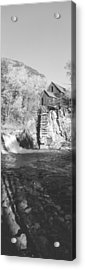 The River Mill At Crystal River Valley Acrylic Print by Panoramic Images