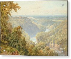 The River Ure Acrylic Print by MotionAge Designs