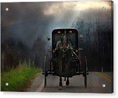 The Road Less Traveled Acrylic Print by Lori Deiter