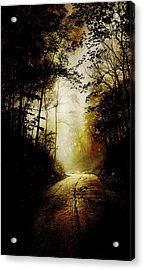 The Road To Hell Take II Acrylic Print by Scott Norris