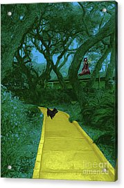 The Road To Oz Acrylic Print by Methune Hively