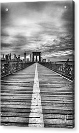The Road To Tomorrow Acrylic Print by John Farnan