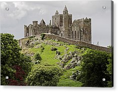 The Rock Of Cashel Ireland In Summer Acrylic Print by Pierre Leclerc Photography