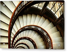 The Rookery Spiral Staircase Acrylic Print by Ely Arsha
