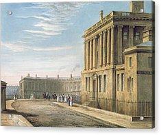 The Royal Crescent Acrylic Print by David Cox