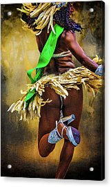 The Samba Dancer Acrylic Print by Chris Lord