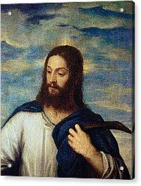 The Savior Acrylic Print by Titian