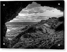 The Secret Cave Acrylic Print by Natasha Bishop