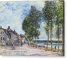 The Seine  Acrylic Print by Celestial Images