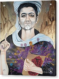The Seven Deadly Sins - Wrath Acrylic Print by James Perez