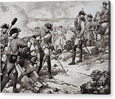 The Seven Years' War Acrylic Print by Pat Nicolle