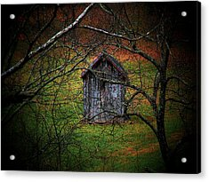 The Shed Acrylic Print by Michael L Kimble