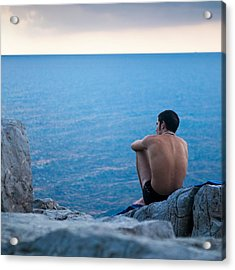 The Sicilian Acrylic Print by Neil Buchan-Grant