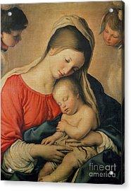 The Sleeping Christ Child Acrylic Print by Il Sassoferrato