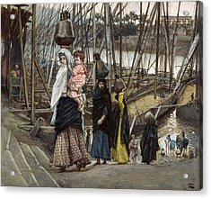 The Sojourn Acrylic Print by Tissot