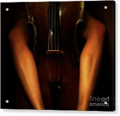 The Sound Of Eroticism   Acrylic Print by Steven  Digman
