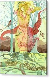 The Source Acrylic Print by Sheri Howe