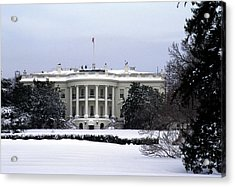 The South View Of The White House Acrylic Print by Stacy Gold