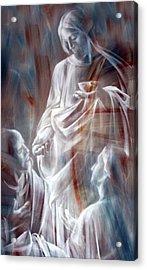 The Spirit Acrylic Print by Munir Alawi
